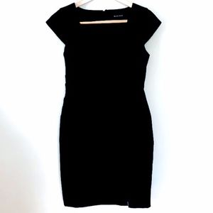Black Halo Black Dress- Size 12